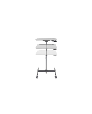 ERGOTRON Wózek LearnFit SE Sit-Stand Desk Medium Grey