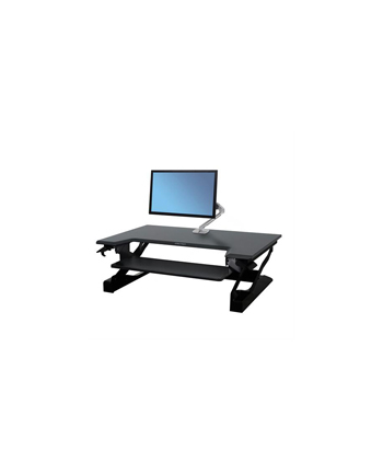 ERGOTRON STAND TABLE TOP WORKFIT-T ERGOTRON BLACK