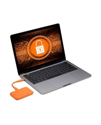 LACIE Rugged SSD 2TB 6.4cm 2.5inch USB-C external