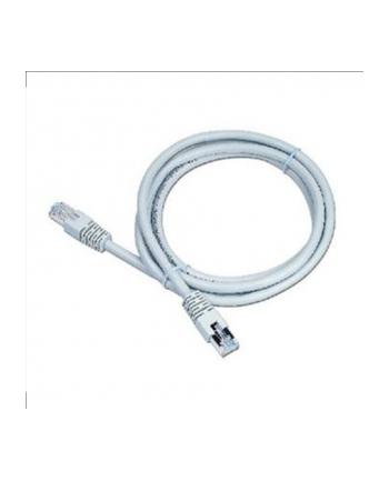 Patch cord FTP kat.6e osłonka zal. 10M  szary