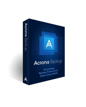ACRONIS B1WBEDLOS21 Acronis Backup Standard Server Subscription License, 2 Year