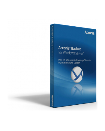 ACRONIS B1WBEILOS21 Acronis Backup Standard Server Subscription License, 3 Year