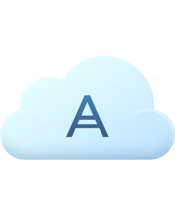 ACRONIS SCBBEDLOS21 Acronis Cloud Storage Subscription License 500 GB, 2 Year