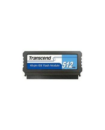 TRANSCEND TS512MPTM520 Transcend 512MB IDE PATA Flash Module 40Pin Vertical