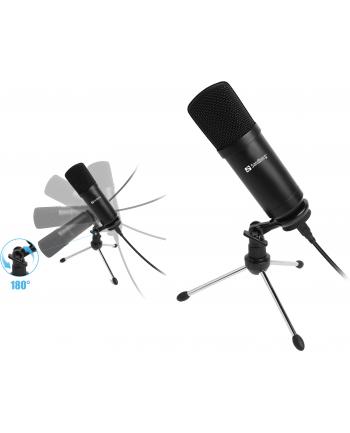 SANDBERG 126-09 Sandberg mikrofon biurkowy do streamowania USB