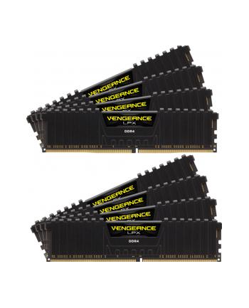 CORSAIR CMK128GX4M8X3200C16 Corsair Vengeance LPX Pamięć DDR4 128GB (8x16GB) 3200MHz CL16 1.35V XMP Czarna