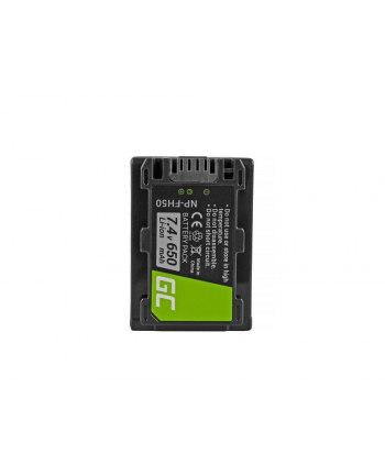 GREENCELL CB61 Bateria Green Cell ® NP-FH50 do Sony DCR-HC45, DCR-SR300E, DCR-SR70, DCR-SX50E