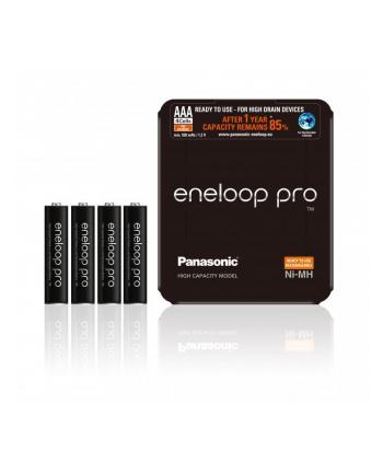 PANASONIC BK-4HCDE/4LE Panasonic Eneloop Pro R03/AAA 930mAh, 4 Szt., Sliding pack