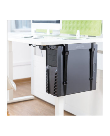 LOGILINK EO0009 LOGILINK - Regulowany uchwyt na komputer pod biurko