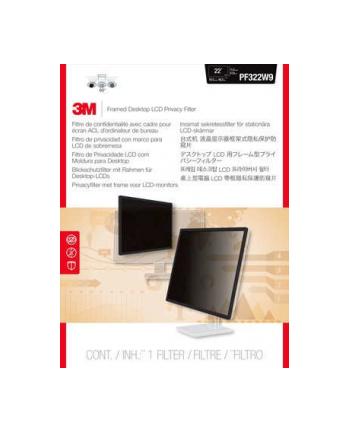 3M PF220W9F Filtr prywatyzujący PF220W9 22 Wide (16:9) 277,8 mm x 495.3 mm