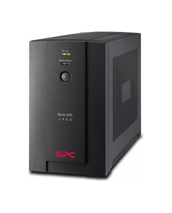APC BX1400UI-TUO APC Back-UPS 1400VA, 230V, AVR, USB, IEC - otwierane opakowanie