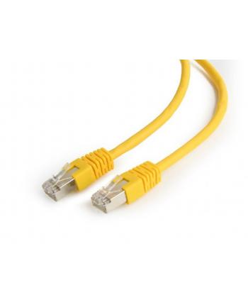 GEMBIRD PP6-0.5M/Y Gembird patchcord RJ45, kat. 6, FTP, 0.5m, żółty