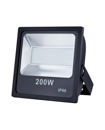 ART L4101850 ART Lampa zew. LED,200W,SMD,IP66, AC80-265V,black, 4000K-W
