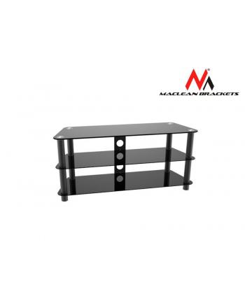 MACLEAN MC-625 Maclean MC-625 Stolik RTV szklany max 50 40kg