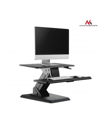 MACLEAN MC-792 Maclean MC-792 Podstawka na klawiaturę i monitor/laptop na stolik sprężyna gazow
