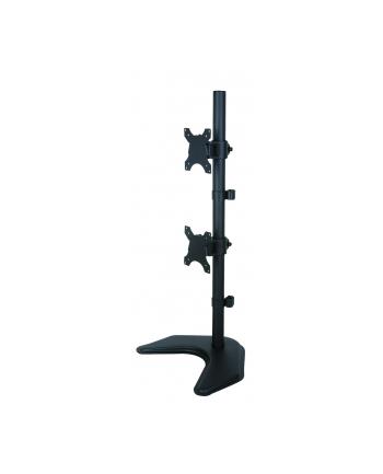 TECHLY 027552 Techly Podwójne ramię biurkowe do LED/LCD 13-27 2x10kg pionowe regulowane