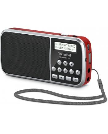 technisat TCS 0000/3922 TECHNIRADIO RDR, czerwony