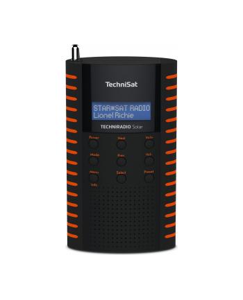 technisat TCS 0001/3931 TECHNIRADIO Solar, czarno-pomarańczowy