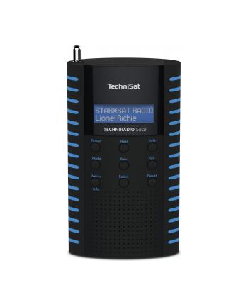 technisat TCS 0002/3931 TECHNIRADIO Solar, czarno-niebieskie