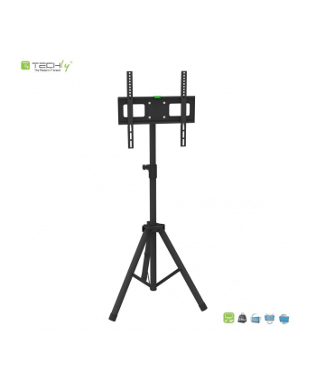TECHLY 108002 Techly Uniwersalny stojak trójnogi do TV LCD/LED/PDP 17-60 35kg VESA uchylny