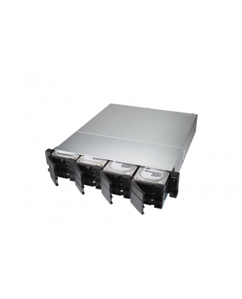 qnap systems QNAP TS-h1277XU-RP-3700X-32G QNAP 12-bay QTS hero, AMD Ryzen 5 8C 3,4Ghz, 32GB RAM, 2x1GbE, 4x10Gb, 2x500W