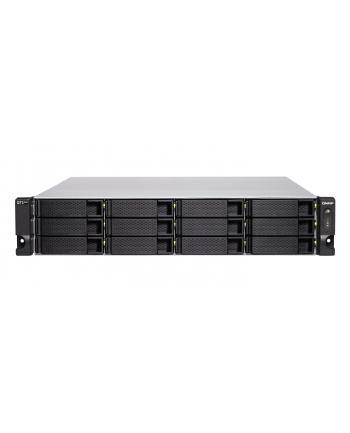 qnap systems QNAP TS-h1283XU-RP-E2236-128G QNAP 12-bay QTS hero, Xeon E-2236 3,4Ghz, 128GB RAM, 4x1GbE, 4x10Gb, 2x300W