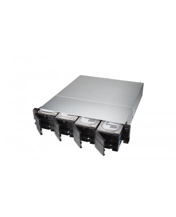 qnap systems QNAP TS-h1283XU-RP-E2236-32G QNAP 12-bay QTS hero, Xeon E-2236 3,4Ghz, 32GB RAM, 4x1GbE, 4x10Gb, 2x300W