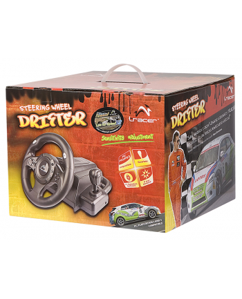 Kierownica TRACER Drifter USB/PS2/PS3