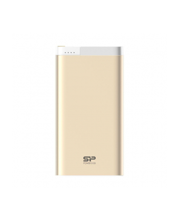 SILICONPOW SP10KMAPBK105P0C Silicon Power S105 Power Bank 10000mAh, microUSB, Lightning, Złoty