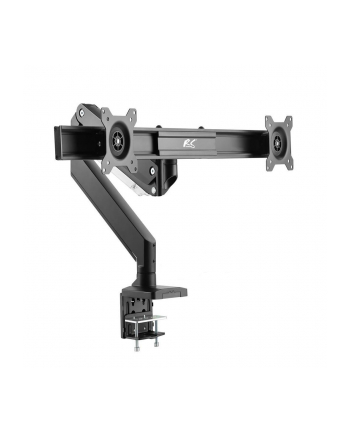 MACLEAN RS115 NanoRS RS115 Uchwyt biurkowy gamingowy na 2 monitory 2x8kg 75x75, 100x100