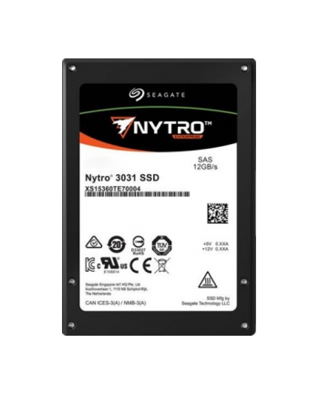 SEAGATE Nytro 3331 SSD 7680GB SAS 2.5inch NO ENCRYPTION