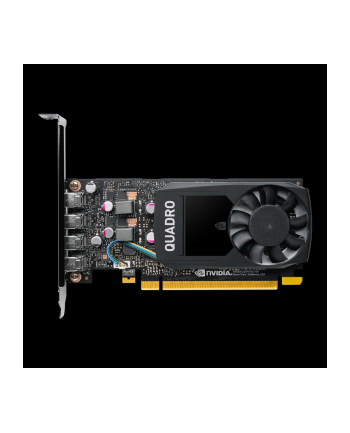 PNY Quadro P1000 PCI-Express 3.0 x16 LP 4GB GDDR5 128bit 4x Mini DP 1.4