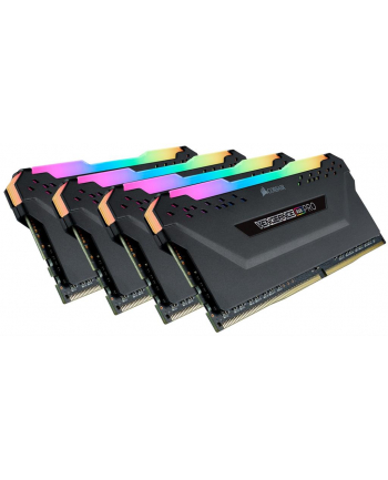 CORSAIR Vengeance RGB PRO DDR4 128GB 4x32GB 3600MHz CL18 1.35V Black