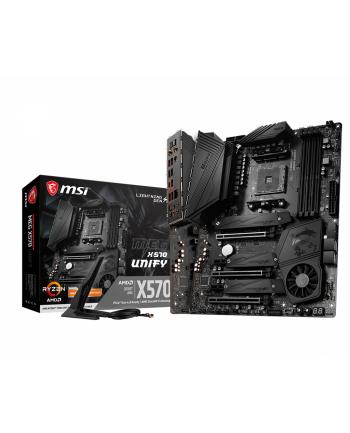 MSI MEG X570 UNIFY MSI MEG X570 UNIFY, AM4, 4xDDR4, WiFI, BT, ATX