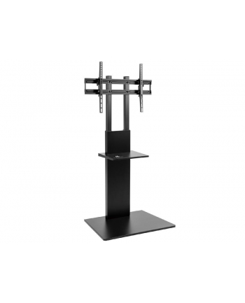 MACLEAN MC-865 Professional Modern TV Floor Stand with a Shelf for 37in - 70in Screens max load 40kg max VESA 600x400 Adjustable