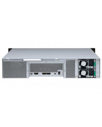 qnap systems QNAP TL-R1200S-RP 12-bay 2U rackmount SATA JBOD expansion unit redundant PSU