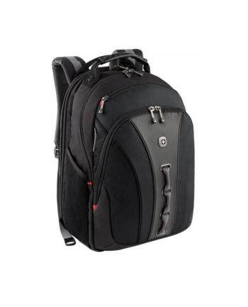 """Plecak WENGER Legacy 16"""", czarny/szary 600631"""