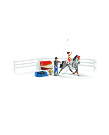 Schleich 42443 Zestaw akrobacyjny Mii Horse Club