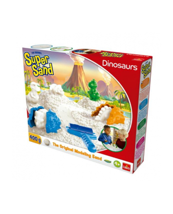 GOLIATH Piasek do modelowania Super Sand Dinosaurs p6 83326
