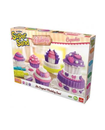 GOLIATH Piasek do modelowania Super Sand Bakery Cupcakes p6 83341