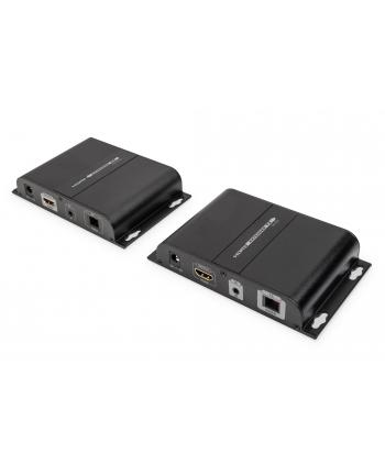 digitus Przedłużacz (Extender) HDMI światłowodowy 20 km 1080p 60Hz FHD HDCP 1.2 IR SMF/MMF (zestaw)
