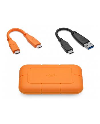 lacie Dysk zewnętrzny Rugged SSD 2TB USB-C STHR2000800