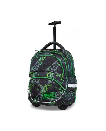 patio PROMO Plecak młodzieżowy na kółkach - Starr - Electric Green CoolPack