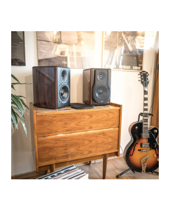 Edifier S3000PRO, speaker(Brown, 2 pieces, Bluetooth 5.0, apt: X)