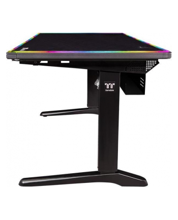 Thermaltake Tt Level 20 RGB Battlestation Gaming Desk, gaming table (black)