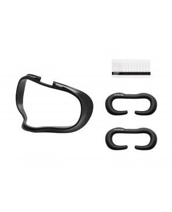 VR Cover Facial Foam Replacement Interface & Basic Set, protectors(black, Set)
