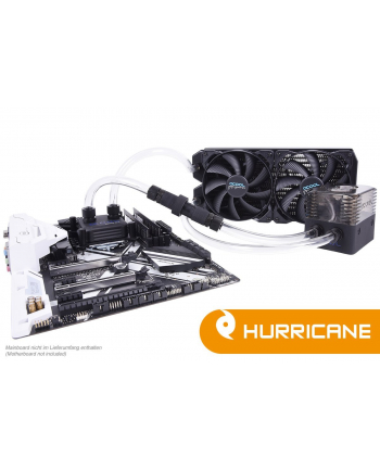 Alphacool Ice Storm Hurricane Copper 45 2x140mm - chłodzenie wodne Water Cooling Set