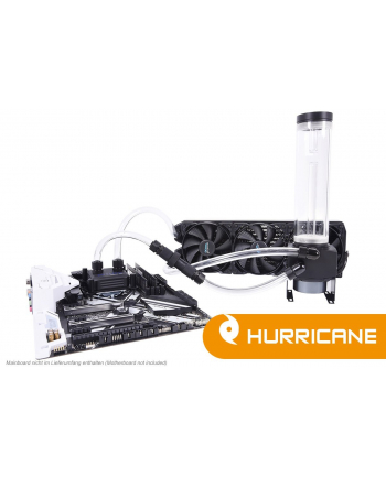 Alphacool Ice Storm Hurricane Copper 45 3x120mm - chłodzenie wodne Water Cooling Set