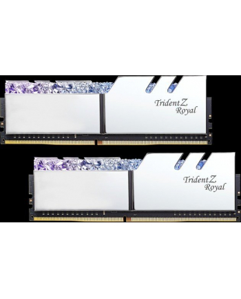 G.Skill DDR4 - 32 GB -3600 - CL - 16 - Dual kit, Trident Z Royal (silver, F4-3600C16D-32GTRS)