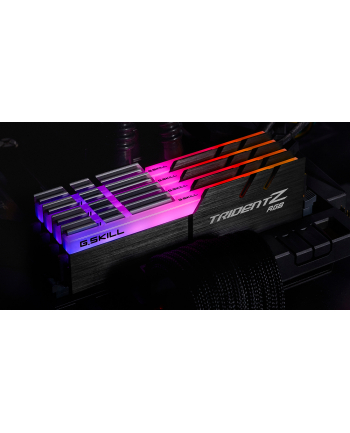 G.Skill DDR4 - 64GB -3600 - CL - 16 - Quad Kit, Trident Z RGB (black, F4-3600C16Q-64GTZRC)
